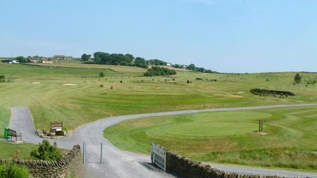 Overview of golf course named New Mills Golf Club