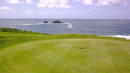 Overview of golf course named Cape Cornwall Golf Club