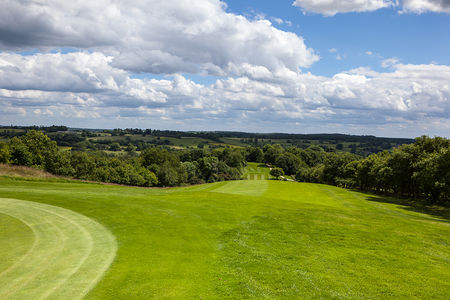 Overview of golf course named Chevin Golf Club