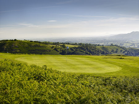 Overview of golf course named Church Stretton Golf Club
