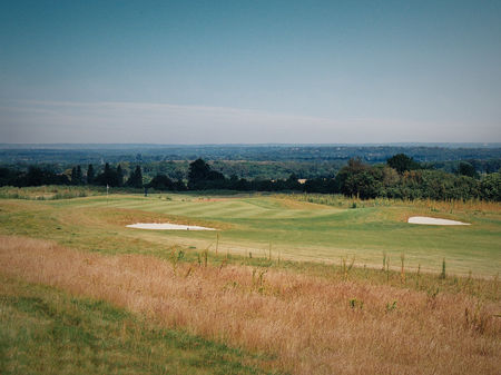 Overview of golf course named Clandon Golf Club