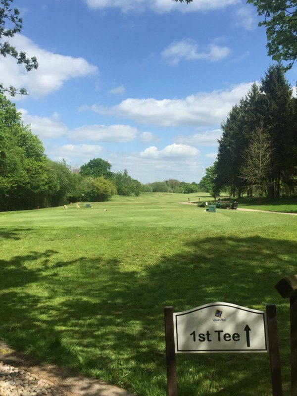 Clandon regis golf club cover picture
