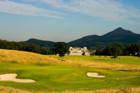 Overview of golf course named Powerscourt Golf Club