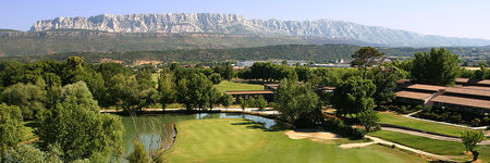 Overview of golf course named Sainte Victoire Golf Club