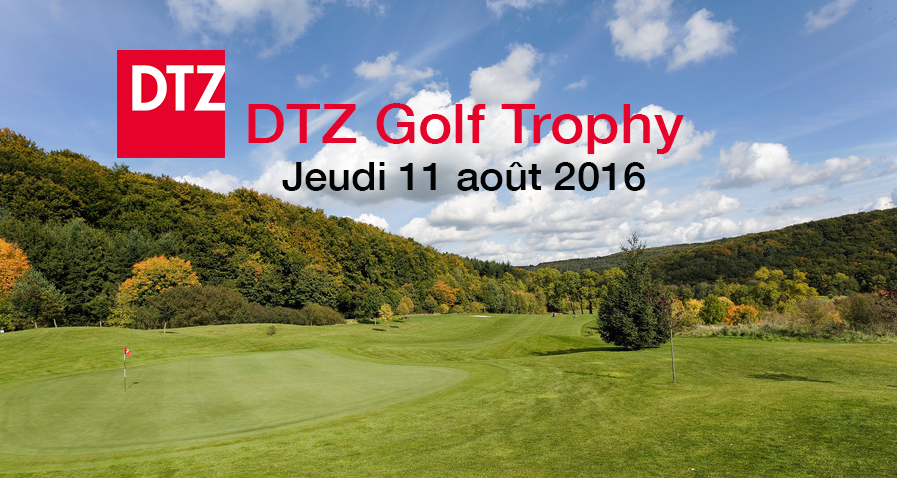 Cover of golf event named DTZ Golf Trophy