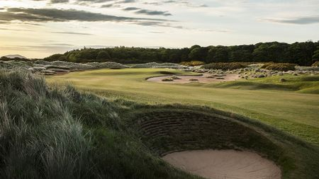 Overview of golf course named Archerfield Links - Fidra