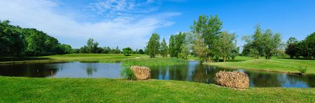 Overview of golf course named Garden Golf Toulouse La Ramée