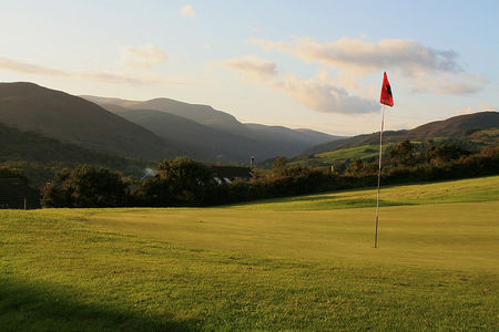 Overview of golf course named Glenmalure Golf Club