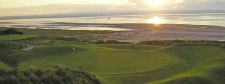 Overview of golf course named Rosslare Golf Club
