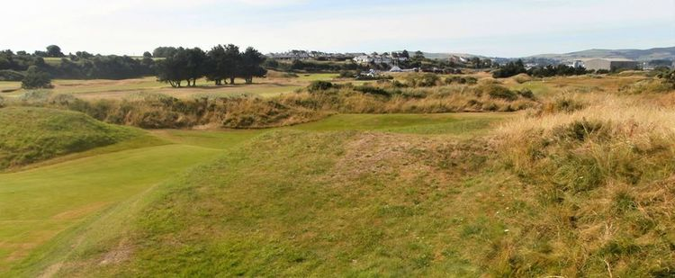 Arklow golf club cover picture