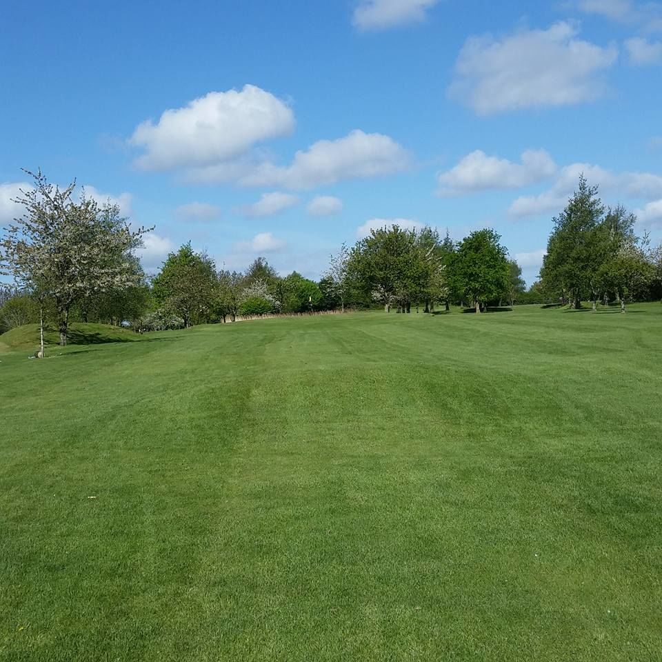 Balheary open golf course cover picture