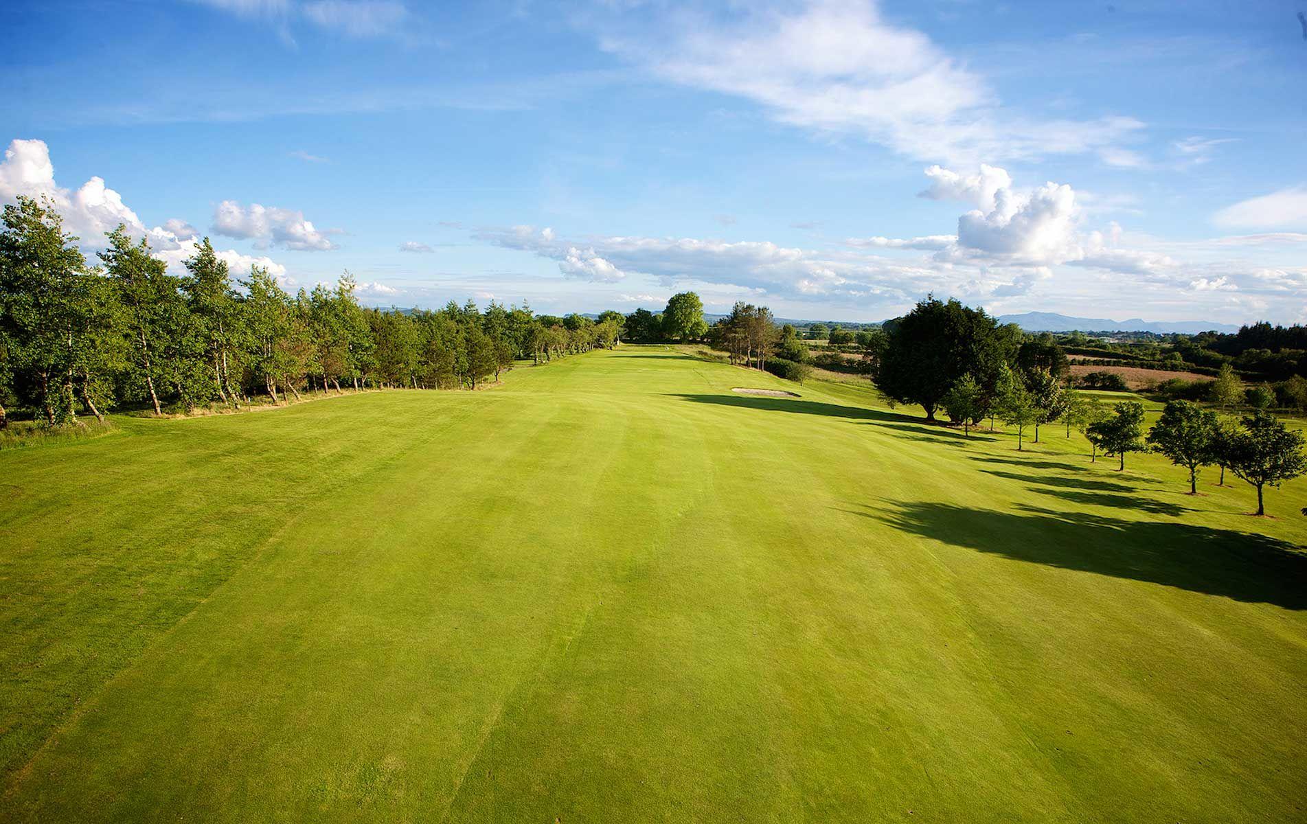 Ballina golf club cover picture