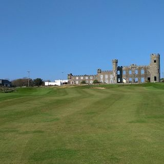Ballyheigue castle golf course cover picture