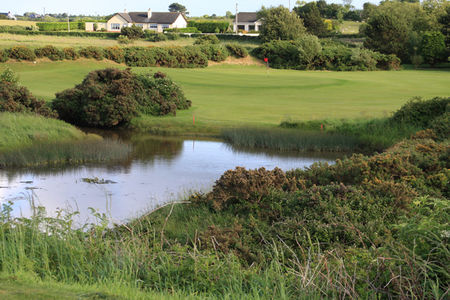 Overview of golf course named Greenore Golf Club