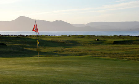 Mulranny golf club cover picture
