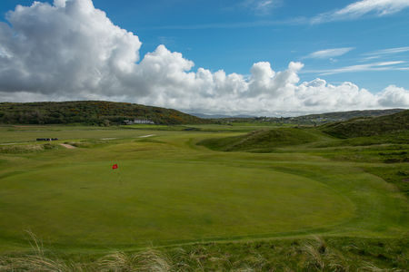 Overview of golf course named Narin and Portnoo Golf Club