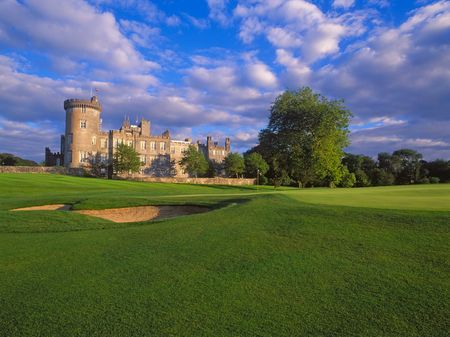 Overview of golf course named Dromoland Castle Hotel