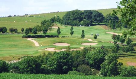 Overview of golf course named Dunmurry Springs Golf Club