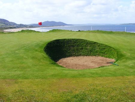 Buncrana golf club cover picture