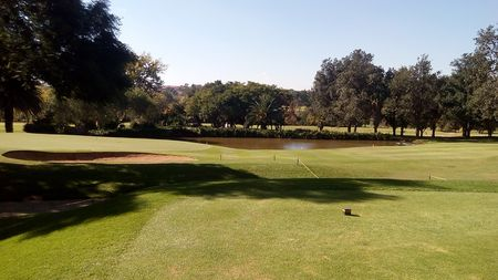 Overview of golf course named Tema Country Club