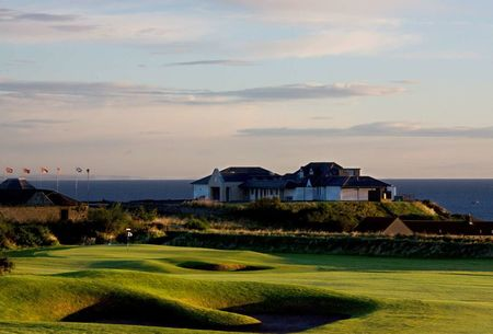 Crail golf club cover picture