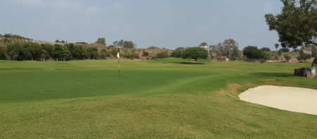 Overview of golf course named The Hyderabad Golf Club