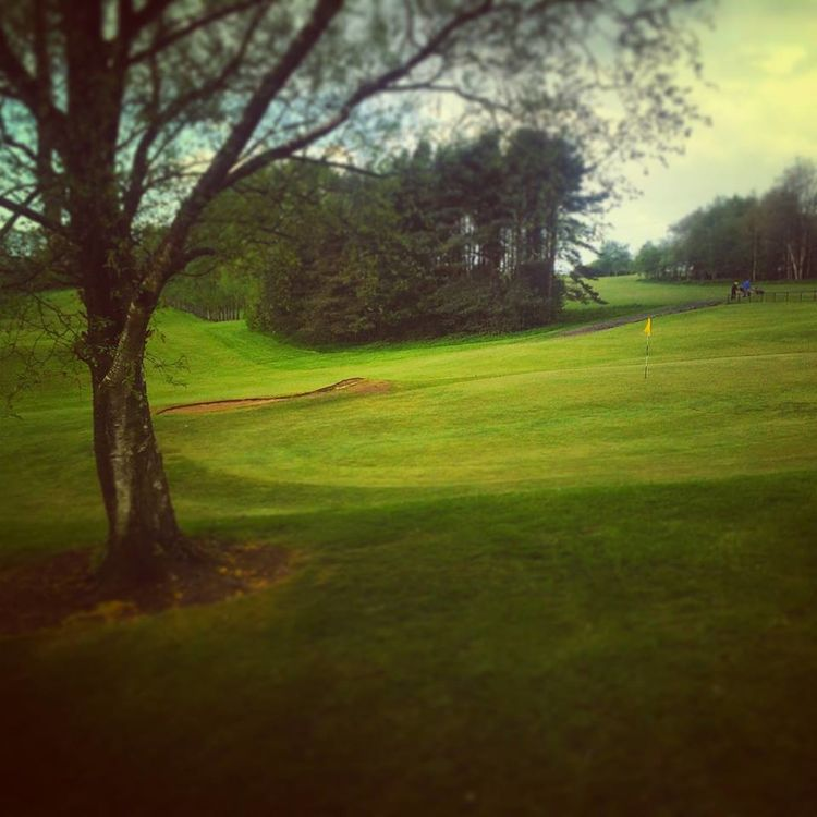 Annanhill golf club cover picture