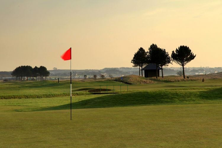 Arbroath golf club cover picture