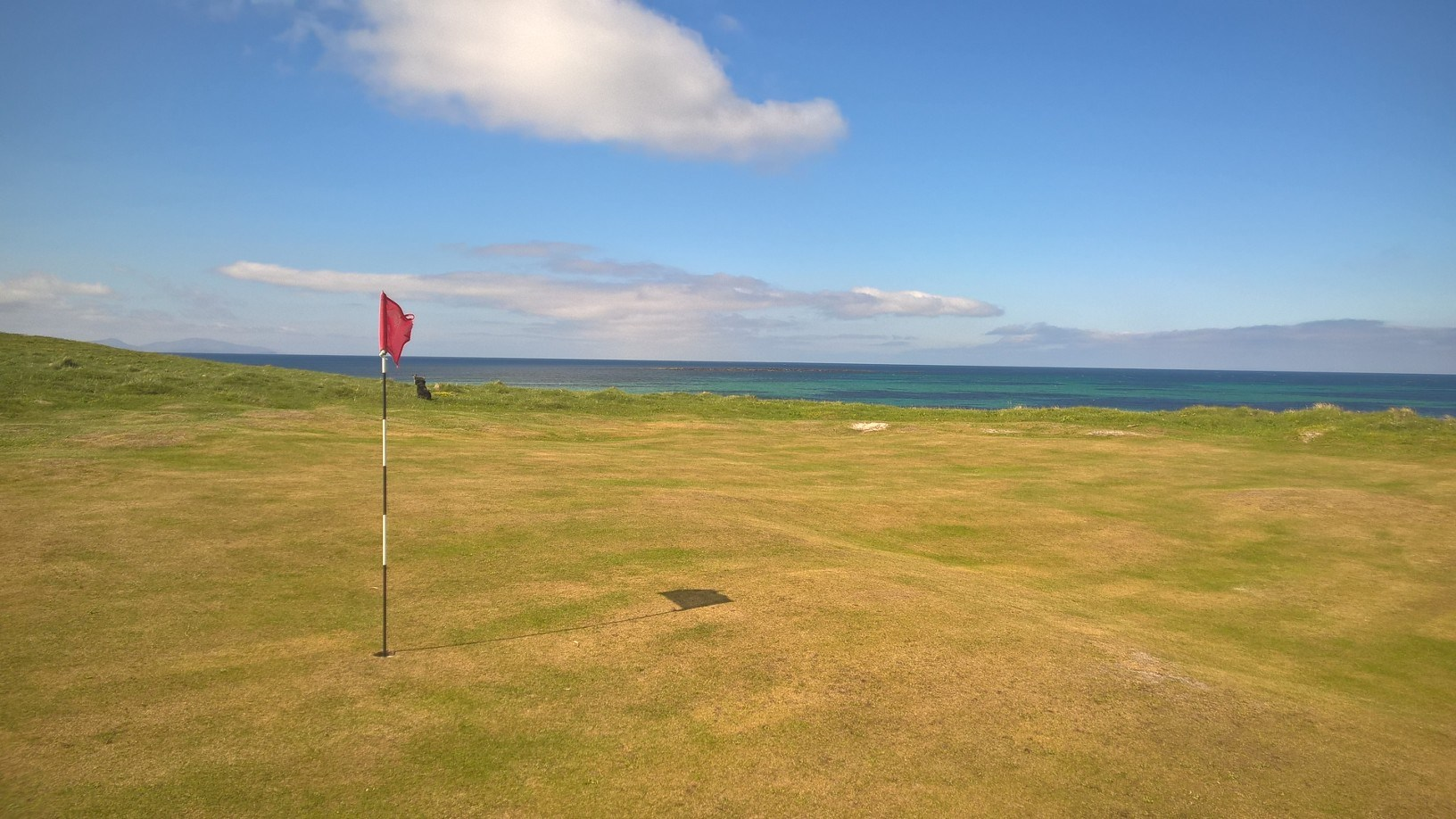 Overview of golf course named Askernish Golf Club