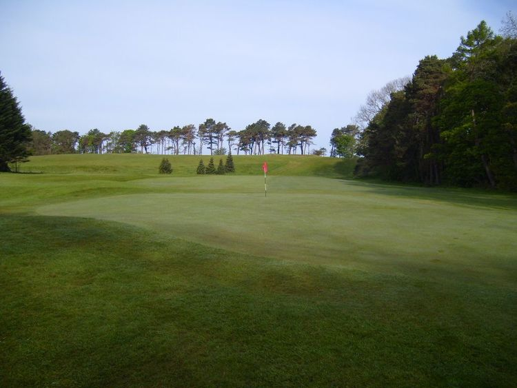 Ayr seafield golf club cover picture