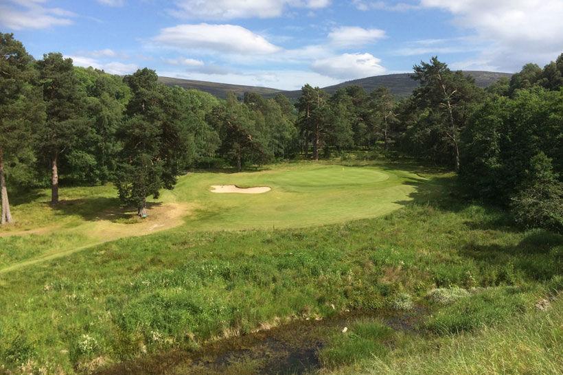 Ballindalloch castle golf club cover picture