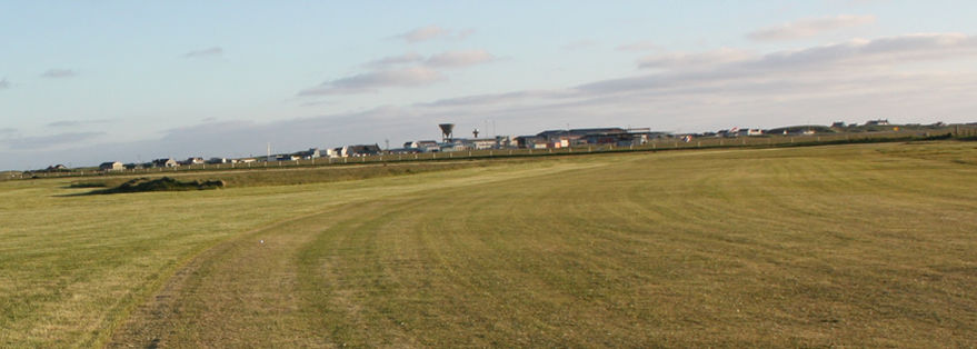 Overview of golf course named Benbecula Golf Club