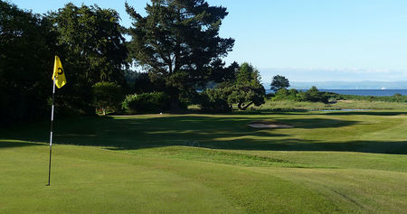 Overview of golf course named Brodick Golf Club