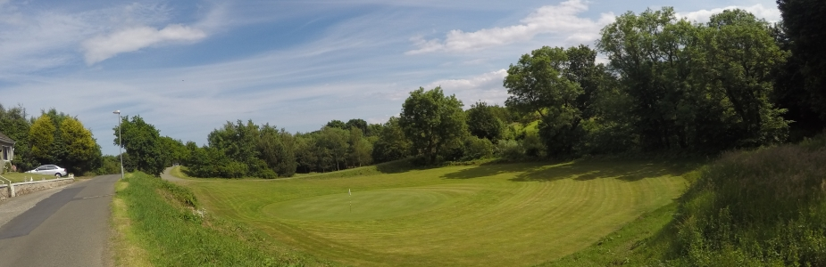 Overview of golf course named Cluny Clays Golf Club