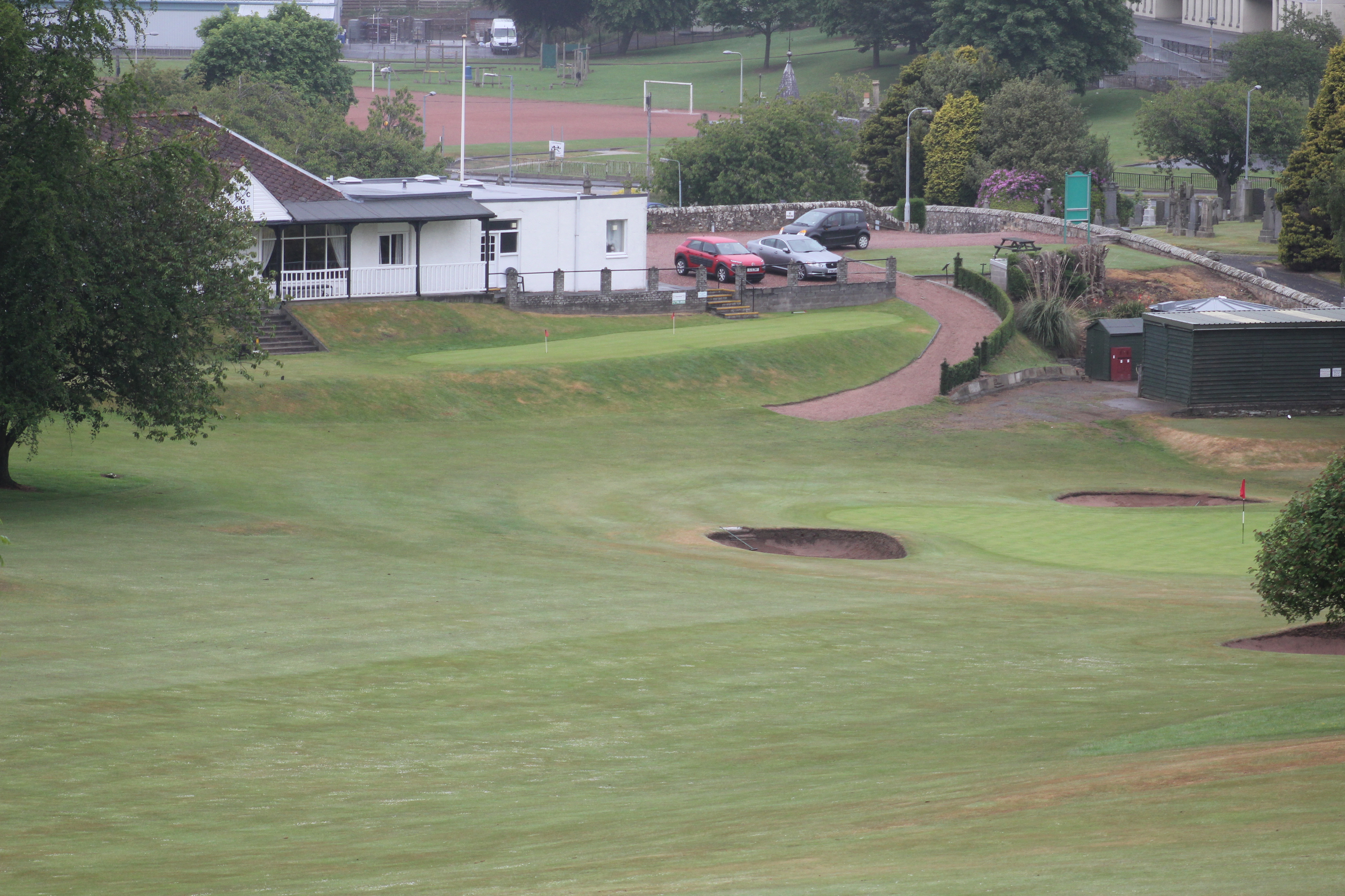 Overview of golf course named Cupar Golf Club
