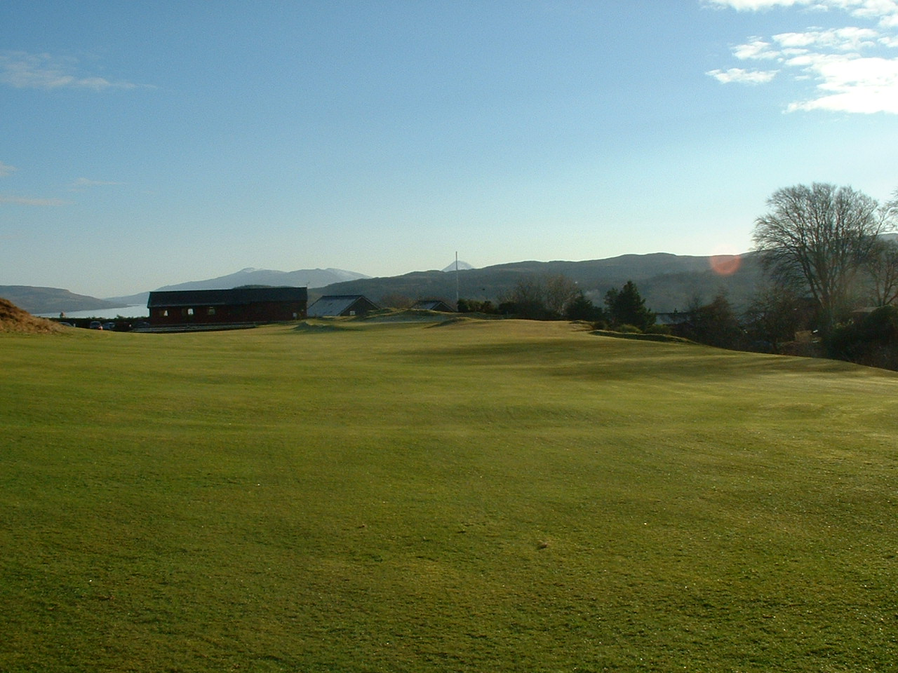 Overview of golf course named Tobermory Golf Club