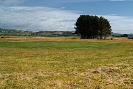 Overview of golf course named Wigtownshire County Golf Club