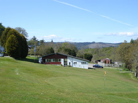 Overview of golf course named Lochgilphead Golf Club