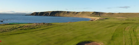 Elie sports club golf club cover picture