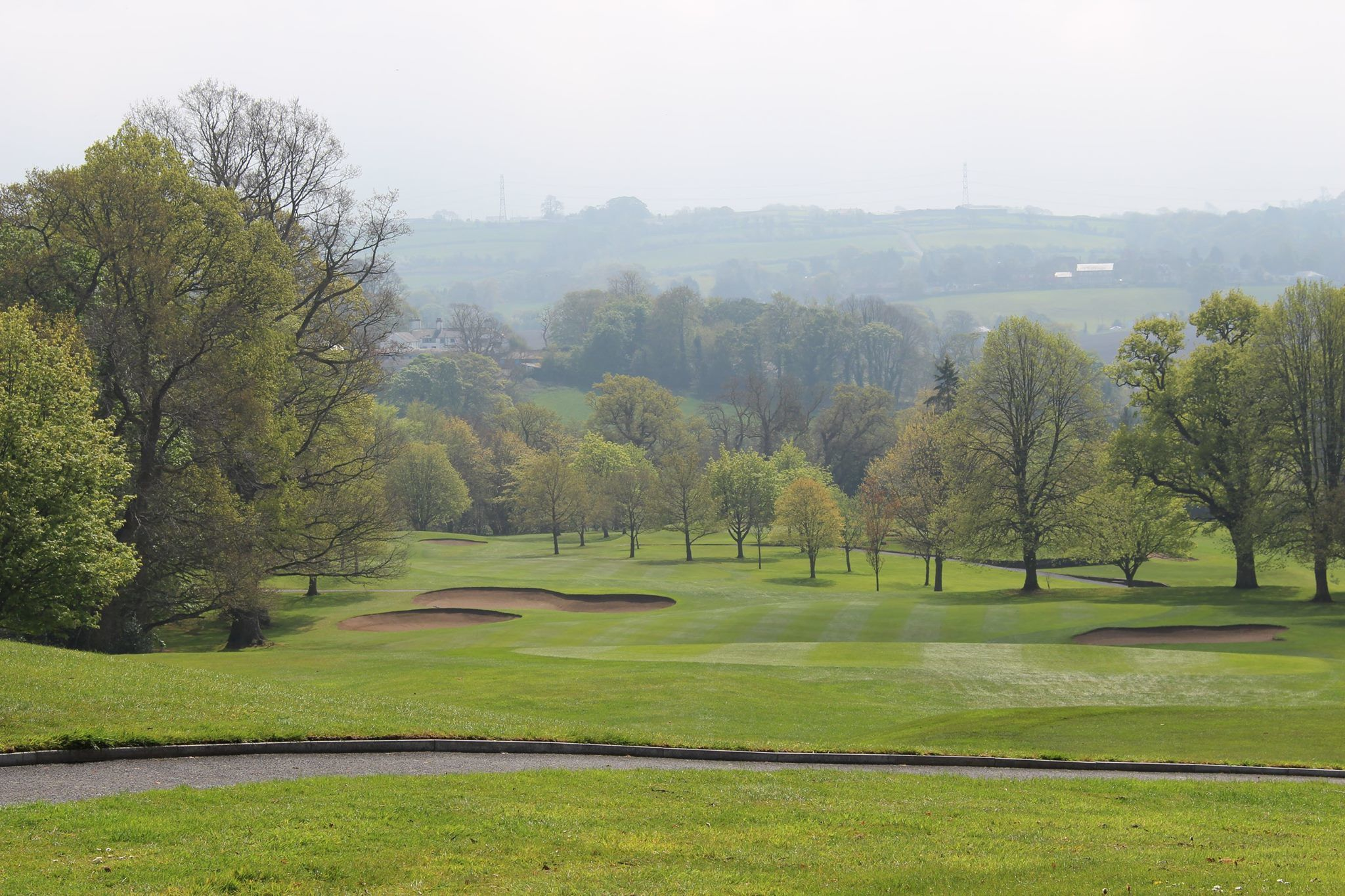 Ballycastle golf club cover picture