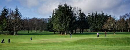 Overview of golf course named Castle Hume Golf Club