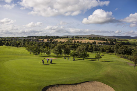 Overview of golf course named Foyle International Golf Centre