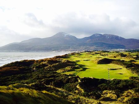 Mourne golf club cover picture