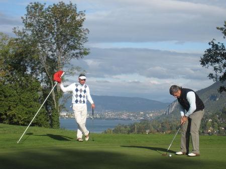 Profile cover of golfer named Antoine Katz