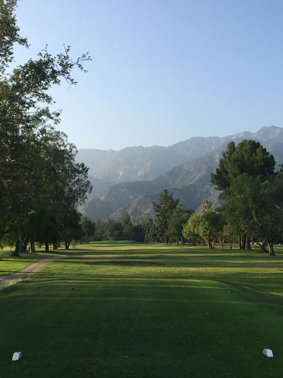 Altadena golf course cover picture