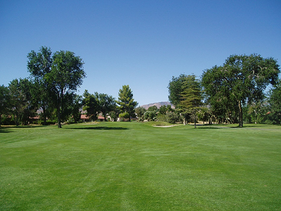 Overview of golf course named Antelope Valley Country Club