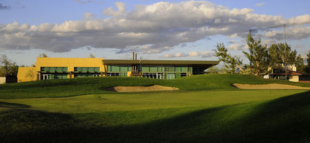 Green tree golf course cover picture