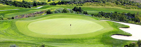 Overview of golf course named Moorpark Country Club