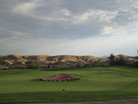 Overview of golf course named Morongo Golf Club at Tukwet Canyon