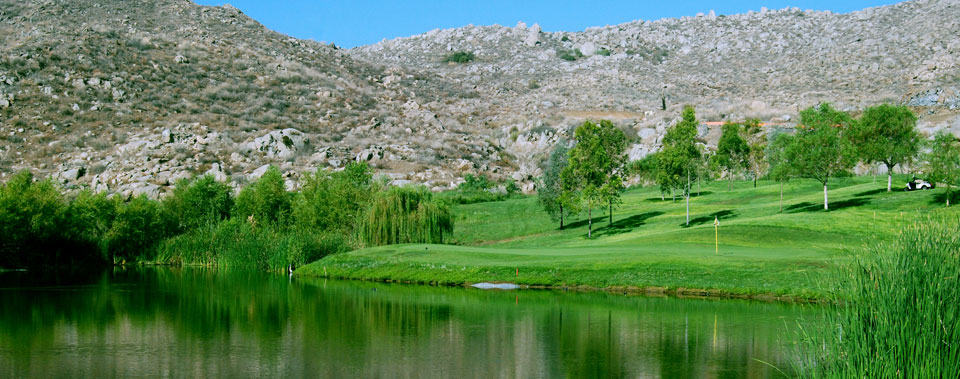 Overview of golf course named Hemet Golf Club